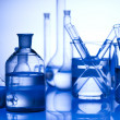 Stock Photo: Laboratory glass