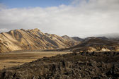 Mountain landscape , Landmannalaugar,Iceland — Stock Photo