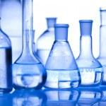 Chemistry equipment, laboratory glassware — Stock Photo #8840240