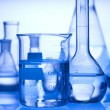 Laboratory glassware - Foto Stock