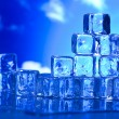 Melting ice cubes — Stock Photo #8841114