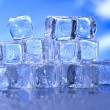 Melting ice cubes — Stock Photo #8841142