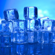 Melting ice cubes — Stock Photo #8841287