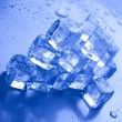 Melting ice cubes — Stock Photo #8841369