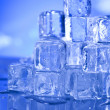 Ice, and cubes — Stock Photo #8841504