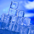 Ice, and cubes — Stockfoto