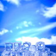 Melting ice cubes — Stock Photo #8841942