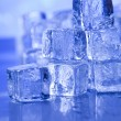Background with ice cubes — Stock Photo #8842219