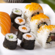 Collection of sushi — Stock Photo