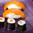 Japanese mix sushi — Stock Photo
