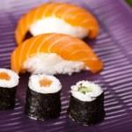mieszanka japońska sushi — Zdjęcie stockowe #8842567