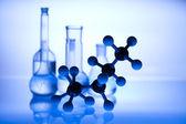 Sterile conditions, Laboratory glass — Stock Photo