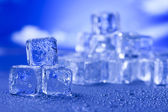 Background with ice cubes — Photo