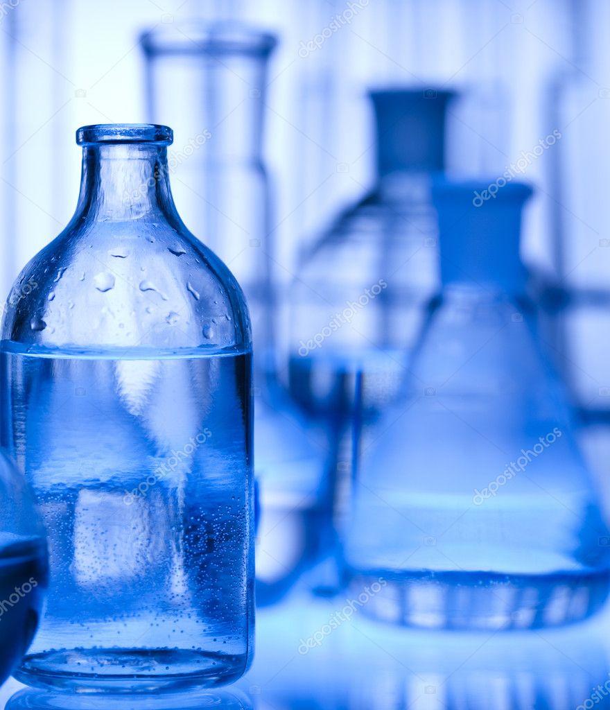 化学设备, 实验室玻璃器皿