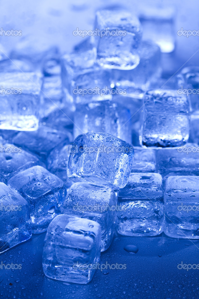Ice cube — Stock Photo #8842034