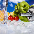 Healthy lifestyle concept, Diet and fitness — Stock Photo #9917397