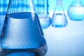 Sterilen bedingungen, laborglas — Stockfoto