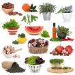Healthy Food Collection — Stock Photo