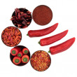 Chili Spice Selection — Stock Photo