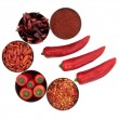 Stock Photo: Chili Spice Selection