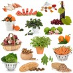 Large Food Sampler — Stock Photo