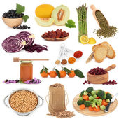 Healthy Food Sampler — Foto de Stock