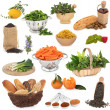 Stock Photo: Healthy Food Selection