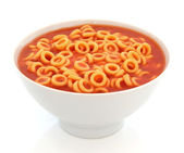 Spaghetti Hoops — Stock Photo