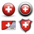 Swiss icons — Stock Vector #10154291