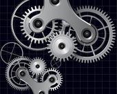 Teknolojik altyapı — Stok Vektör