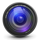 Foto lens — Stockvector