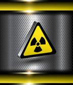 Danger background — Stock Vector