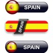 Stock Vector: Spain icons