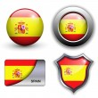 Royalty-Free Stock Vector Image: Spain icons