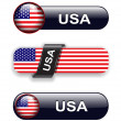 Royalty-Free Stock Vector Image: Usa icons