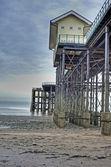 Victorian pier — Stock Photo