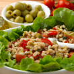 Spelt salad — Stock Photo #10387459