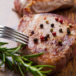 Grilled meat fillet — Stock Photo #10451701