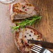Grilled meat fillet — Stock Photo