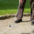 Golf Bunker — Stock Photo #10576089