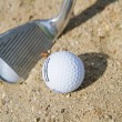 Golf Bunker — Stock Photo #10576093