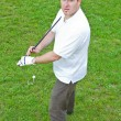 An image of a young male golf player — Stock Photo #10576318