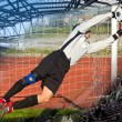 Soccer Football Goalie — Stockfoto