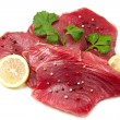Filet of fresh tuna — Stock Photo #9119754