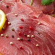 Stock Photo: Filet of fresh tuna