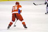 Ice hockey player — Stock Photo