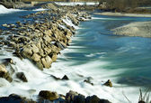 Nehir adda kuzey i̇talya — Stok fotoğraf