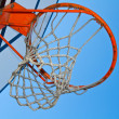 Basket hoop - Stock Photo