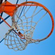 Basket hoop — Stock Photo #9260028
