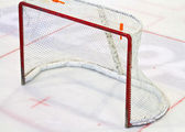 Ice hockey net — Stock Photo